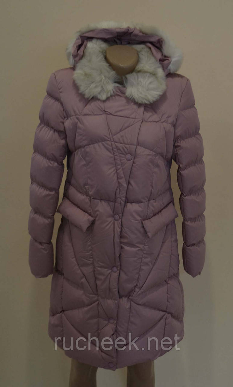 Пальто зимнее для девочки рост 146 -164, GRACE 60432 16