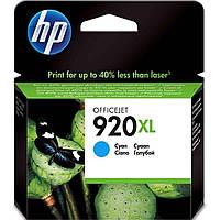 Картридж струйный HP для Officejet 6500 HP 920XL Cyan повышенной емкости
