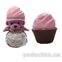 Мягкая игрушка серии Ароматные капкейки - Клубничный сорбет с ароматом клубники Cupcake Surprise 1610033-1