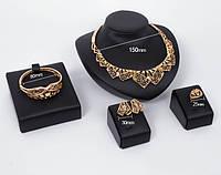 Набор бижутерии: колье, серьги, кольцо, браслет 61154045