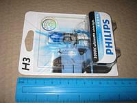 Лампа накаливания H3 12V 55W PK22s Diamond Vision 5000K 1шт blister (производство Philips) (арт. 12336DVB1), ABHZX