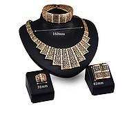 Набор бижутерии: колье, серьги, кольцо, браслет 61154049