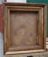 Киот для иконы из ореха ровный., фото 1