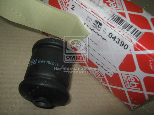 Сайлентблок рычага OPEL OMEGA B задняя ось, внешн. (производство Febi) (арт. 4390), AAHZX