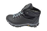 Ботинки зимние на меху подростковые Fleet K-11 Black