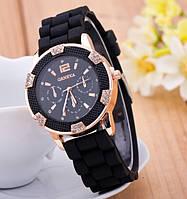 Часы наручные женские GENEVA Lady черные