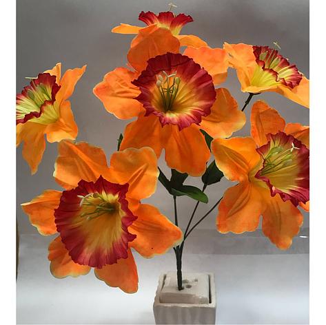 Искусственные цветы.Искусственный букет Нарцисс., фото 2