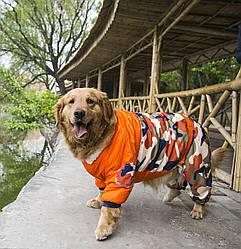 Комбинезон для животных no brand Khaki оранж 20