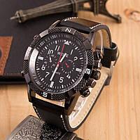 Мужские часы реплика Weide черные (секции по кругу)