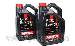 Масло 10W40, 6100 Synergie+, 5L