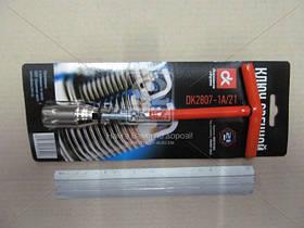 Ключ свечной, Т-ручка, 21 мм.  DK2807-1A/21