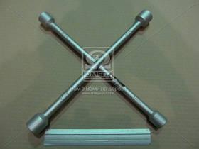 Ключ балонный крест, 17X19X21X23 мм.  (арт. DK2811-1), AAHZX