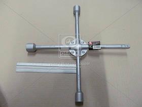 Ключ крест усиленный, с центр. пластиной, 17X19X21X1/2 мм.  DK2811-4, AAHZX