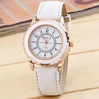 Часы женские Женева Geneva Белые 070-2