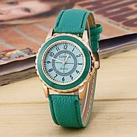 Часы женские Женева Geneva Мята 070-3
