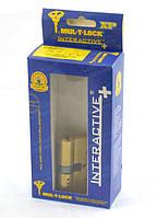 Циліндр MUL-T-LOCK Interactive+ Латунь (Золото), Ключ-Ключ