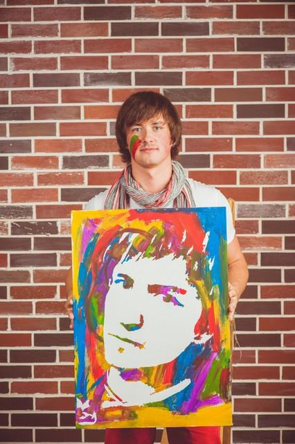 Портреты на заказ Flip Flop портрет