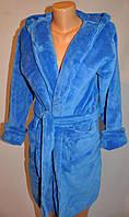 Махровый короткий халат для женщин