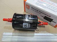 Фильтр топливный DAEWOO LANOS, MATIZ, NUBIRA, ВАЗ с заземл.  (под защел.)   (арт. DK 55/3)