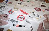 Салфетки бумажные с логотипом компании под заказ