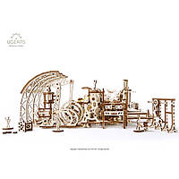 UG Механический 3D пазл Фабрика роботов (598 деталей), фото 1