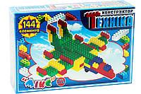 Конструктор Микс-Техника, 144, пластмассовых элементов, TM Промтекс, 4042