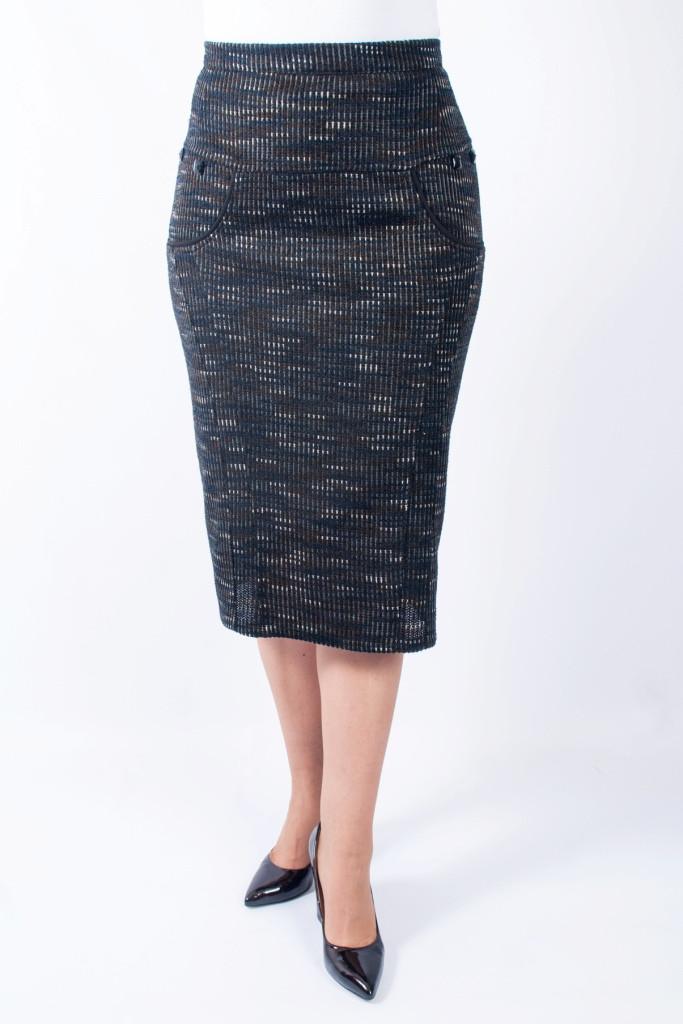 Женская юбка Тамила теплая №2