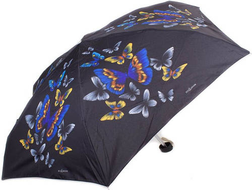 Облегченный женский компактный зонт, механика ZEST (ЗЕСТ) Z55516-6
