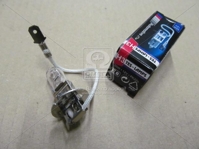 Лампа H3 АКГ12-55-1 PK22s /инд.уп./ (Tes-Lamps) (арт. 2580001)