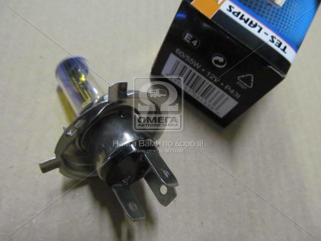 Лампа H4 АКГ12-60+55-1 (All Weather) (12V 60/55W H4) P43t /инд.уп./ (Tes-Lamps) (арт. 2880010)