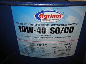 Масло моторное Агринол CLASSIC 10W-40 SG/CD (Бочка 180кг) 10W-40, AIHZX