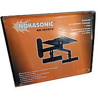 """Кронштейн подставка поворотный Nokasonic NK 404 DVD/Smart TV под диагональ до 16"""""""