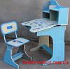 Детская парта со стульчиком трансформер Bambi HB 2071-04 (стол-парта-растишка, 5 положений) КИЕВ