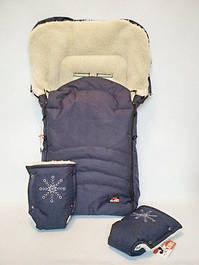 Меховые конверты, чехлы для санок или колясок