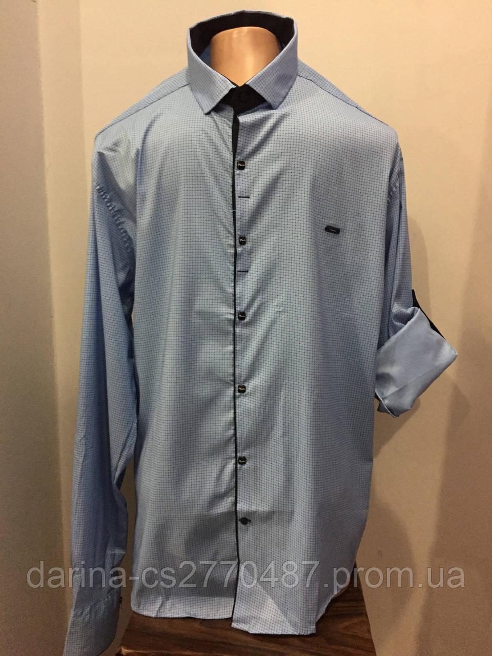 Рубашка батал на кнопках 3XL,4XL