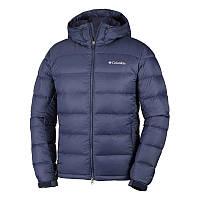 Мужская куртка Columbia QUANTUM VOYAGE™ HOODED JACKET темно-синяя XM5983 464