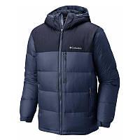 Мужская пуховая куртка Columbia SYLVAN LAKE 630 TURBODOWN™ HOODED JACKET синяя WO0014 478