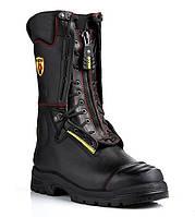 Огнестойкие кожаные пожарные ботинки (берцы) YDS Crosstech Fire Boot. Великобритания, оригинал.