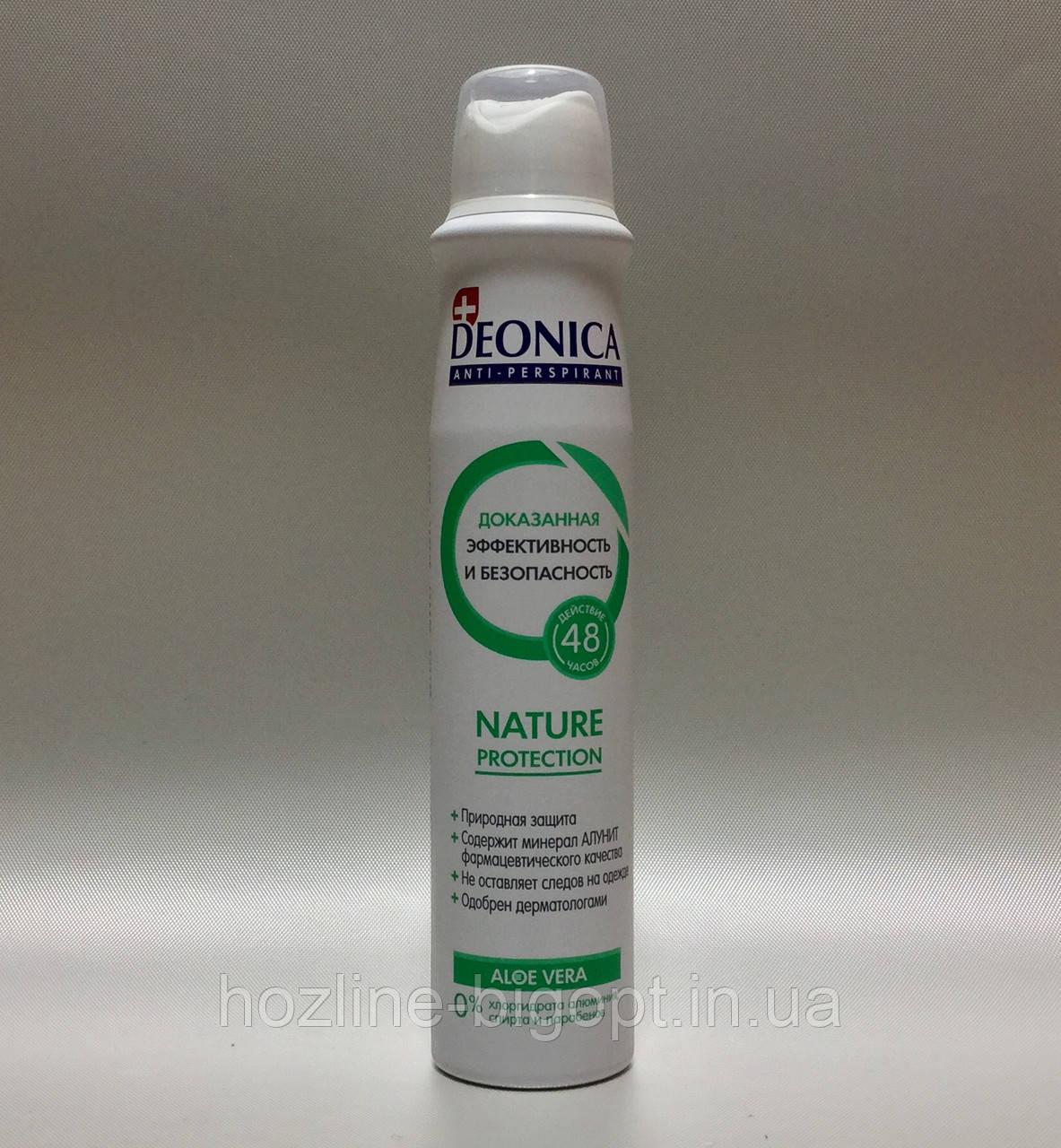 Deonica NATURE PROTECTION Антиперспирант 200 мл.