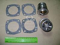 Термостат МАЗ комплект 2 шт.+ 4 прокладки (производство ПРАМО) (арт. ТС107-1306100-06), ACHZX