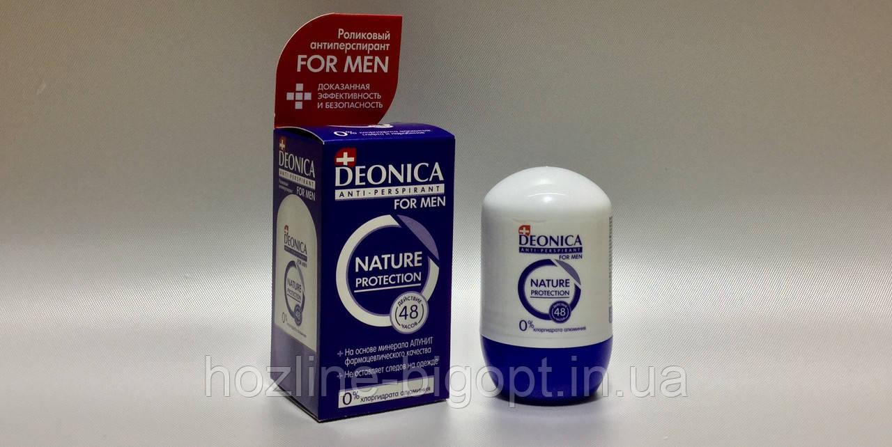 Deonica FOR MEN Роликовый Антиперспирант 45 мл.