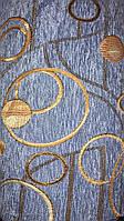 Шенилл Турин голубой обивочная ткань
