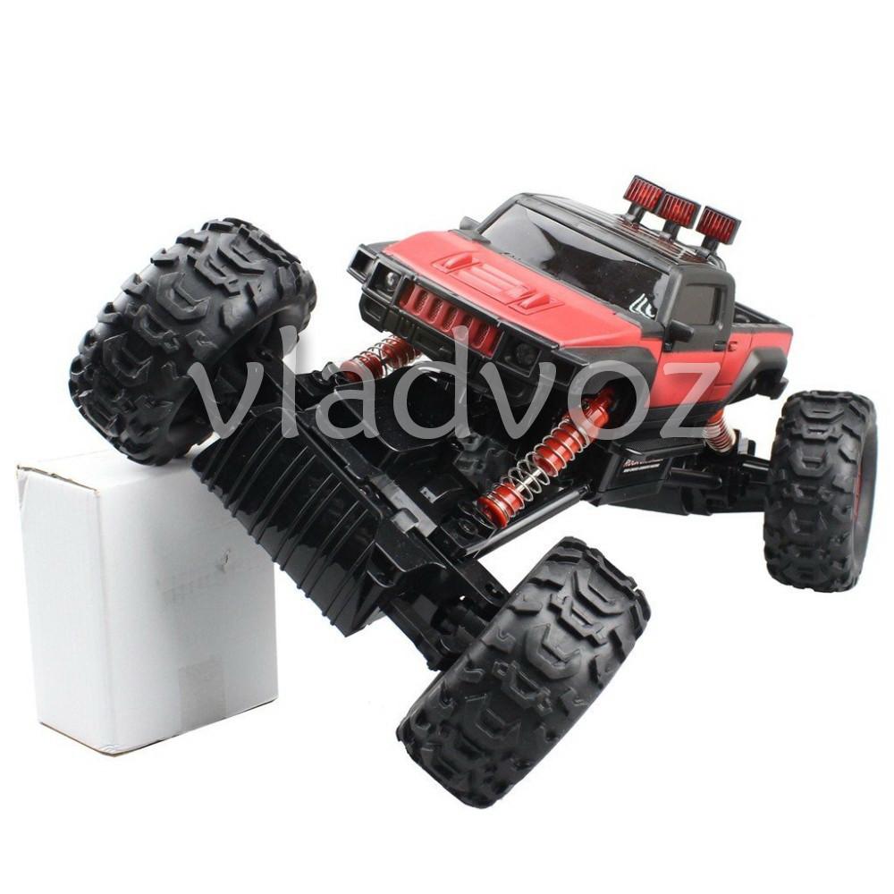 фото Rock Crawler красный на радиоуправлении вид с переди