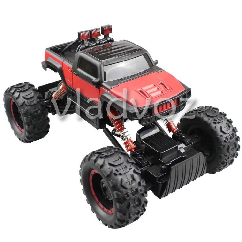 Rock Crawler красный на радиоуправлении Hummer
