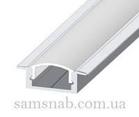 Профиль алюминиевый встраиваемый светодиодный ЛПВ7 для подсветки LED (ТИС Украина)