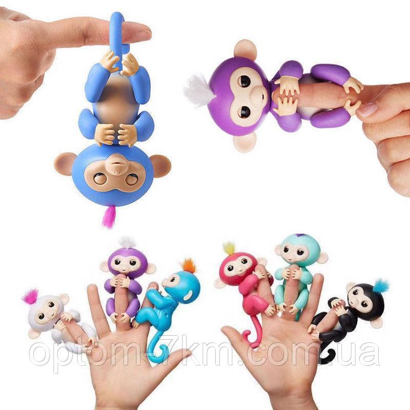 Обезьянка на палец Fingerlings Monkey 6 функций