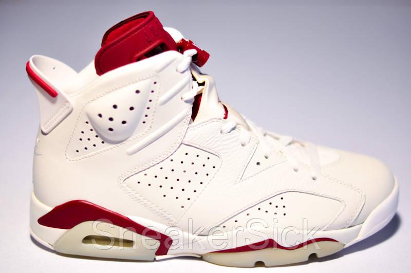 Оригинальные Мужские Баскетбольные Кроссовки Air Jordan Retro 6 VI Retro  384664-116