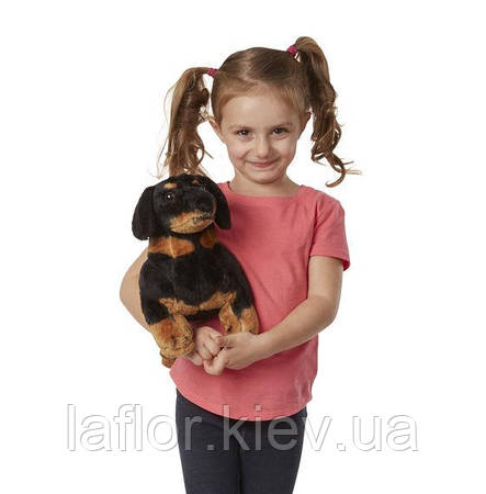 Мягкая игрушка Такса Melissa&Doug , фото 2