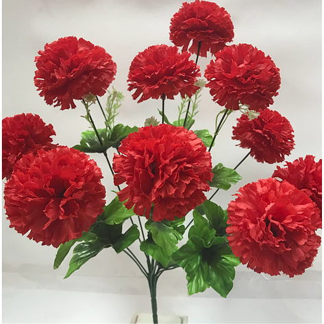 Искусственные цветы.Искусственная гвоздика., фото 2