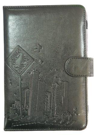Кожаный чехол для планшета 7 дюймов City Черный